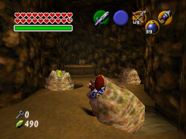 zelda ocarina of time how to get out of tomb